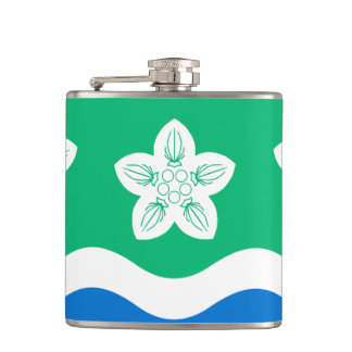 Flag of Cumberland Hip Flask