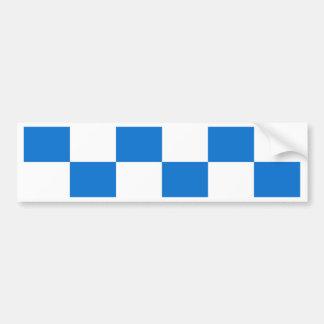 Flag of Dalfsen Bumper Sticker