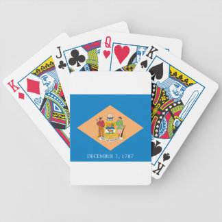 Flag Of Delaware Bicycle Playing Cards