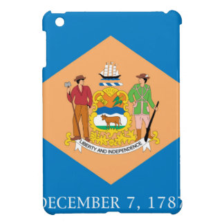Flag Of Delaware Case For The iPad Mini