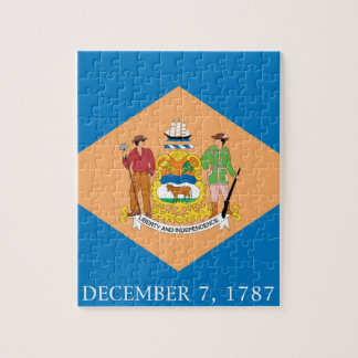 Flag Of Delaware Jigsaw Puzzle
