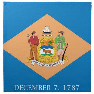 Flag Of Delaware Napkin