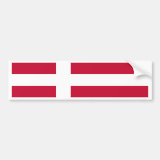 Flag of Denmark Bumper Sticker