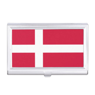 Flag of Denmark Business Card Holder
