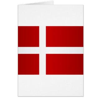 Flag of Denmark Card