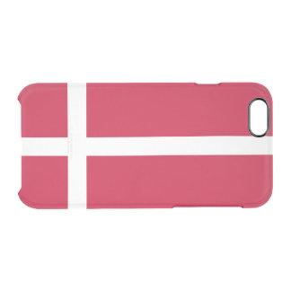 Flag of Denmark Clear iPhone Case