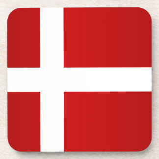 Flag of Denmark Drink Coaster