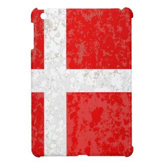 Flag of Denmark Grunge iPad Mini Covers