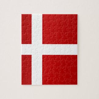 Flag of Denmark Jigsaw Puzzle