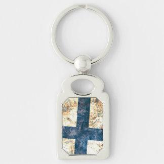 Flag of Denmark Key Chain