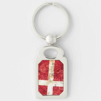 Flag of Denmark Key Chains