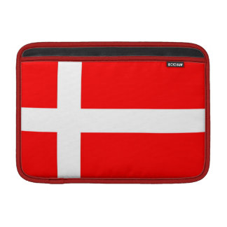 "Flag of Denmark MacBook Air 11"" Sleeve"