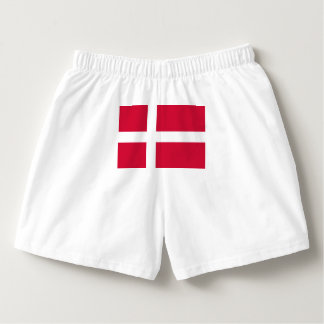 Flag of Denmark or Danish Cloth Boxers
