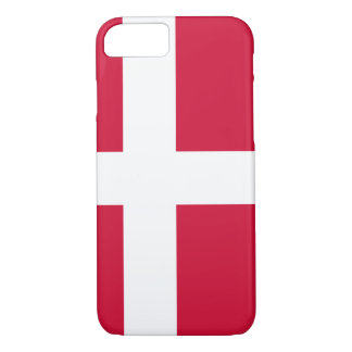 Flag of Denmark or Danish Cloth iPhone 8/7 Case