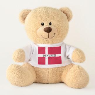 Flag of Denmark or Danish Cloth Teddy Bear