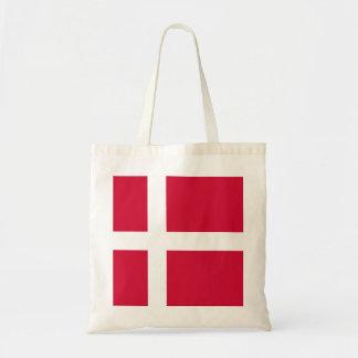 Flag of Denmark or Danish Cloth Tote Bag