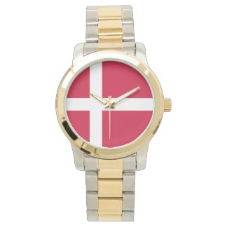 Flag of Denmark or Danish Cloth Watch