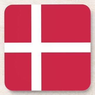 Flag of Denmark - Scandinavian cross Coaster