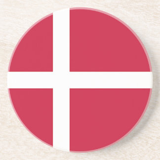 Flag of Denmark - Scandinavian cross Coasters