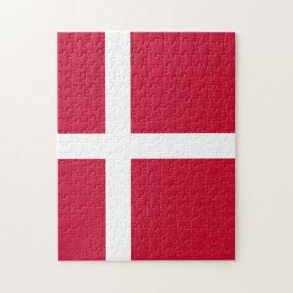 Flag of Denmark - Scandinavian cross Jigsaw Puzzle