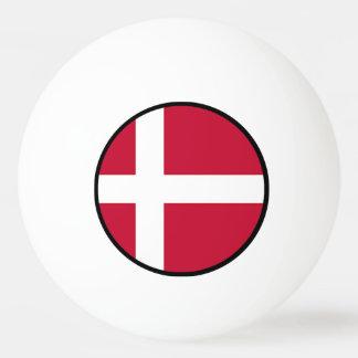 Flag of Denmark - Scandinavian cross Ping-Pong Ball