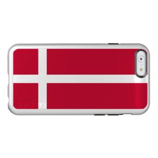Flag of Denmark Silver iPhone Case Incipio Feather® Shine iPhone 6 Case