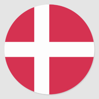 Flag of Denmark Sticker
