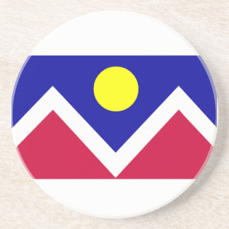 Flag of Denver Colorado Coaster