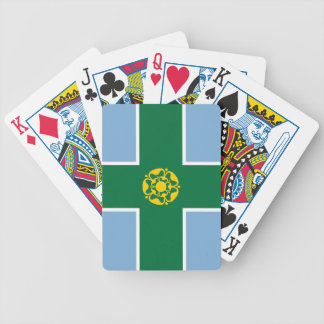 Flag of Derbyshire Bicycle Playing Cards