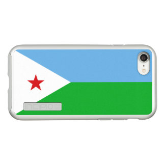 Flag of Djibouti Silver iPhone Case