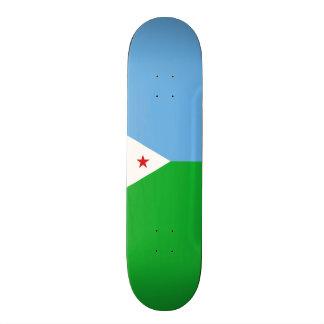 Flag of Djibouti Skateboard Deck