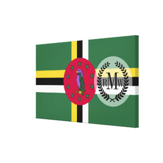 Flag of Dominica Canvas Print