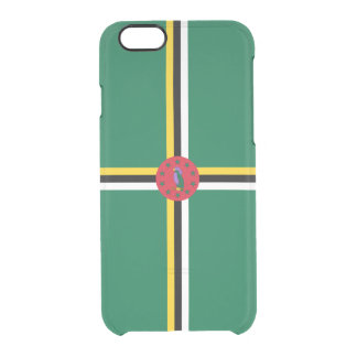 Flag of Dominica Clear iPhone Case