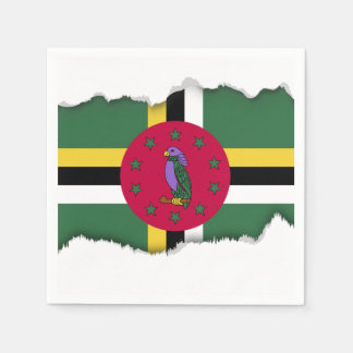 Flag of Dominica Disposable Napkins