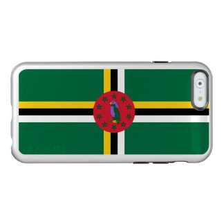 Flag of Dominica Silver iPhone Case