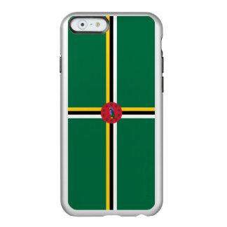 Flag of Dominica Silver iPhone Case Incipio Feather® Shine iPhone 6 Case