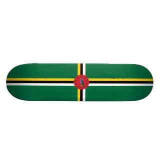 Flag of Dominica Skateboard Deck