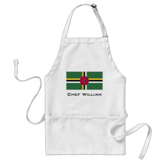 Flag of Dominica Standard Apron