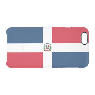 Flag of Dominican Republic Clear iPhone Case
