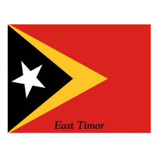 Flag of East Timor Postcard