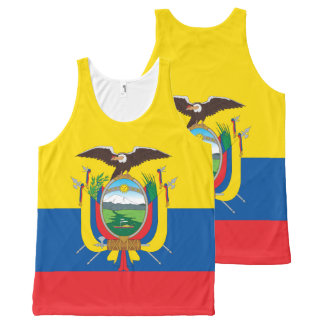 Flag of Ecuador All-Over-Print Tank Top