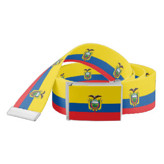 Flag of Ecuador Belt