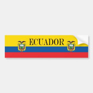 Flag of Ecuador Bumper Sticker