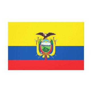 Flag of Ecuador Canvas Print
