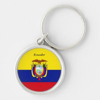Flag of Ecuador custom design Keychain