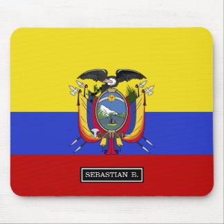 Flag of Ecuador Mouse Pad