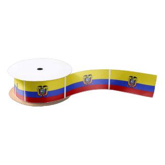 Flag of Ecuador Satin Ribbon