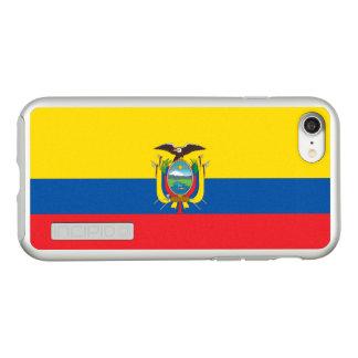 Flag of Ecuador Silver iPhone Case