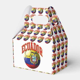 Flag of Ecuador Soccer Ball Favor Box