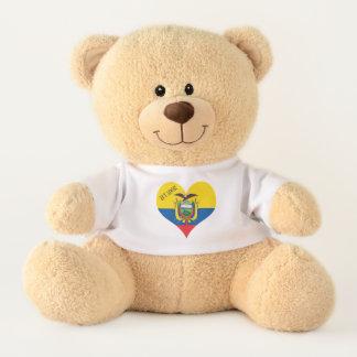 Flag of Ecuador Teddy Bear